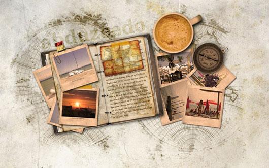 Reader-Tutorial-Create-Vintage-Traveler-Diary-in-Photoshop
