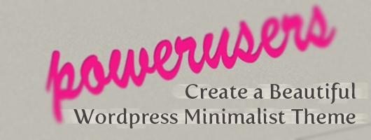 How to Create Beautiful Minimalist Wordpress Theme in Photoshop
